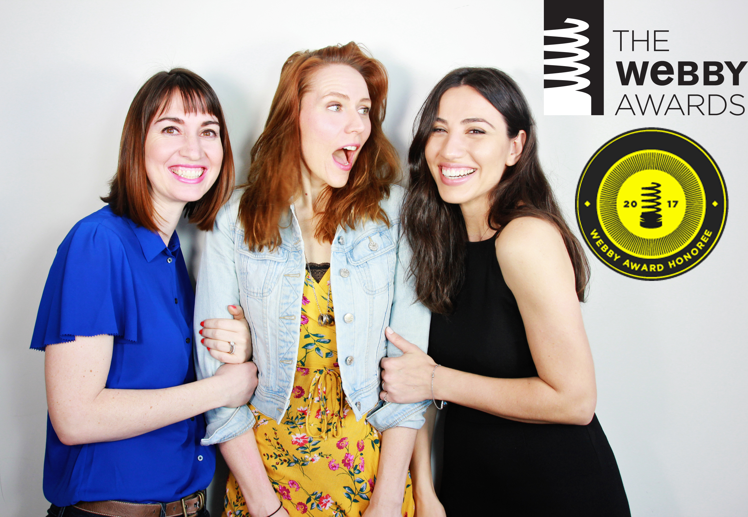 2017 Webby Honorees - Casting Call | The Project Jenna Ciralli, Laura Bray, Julie Asriyan