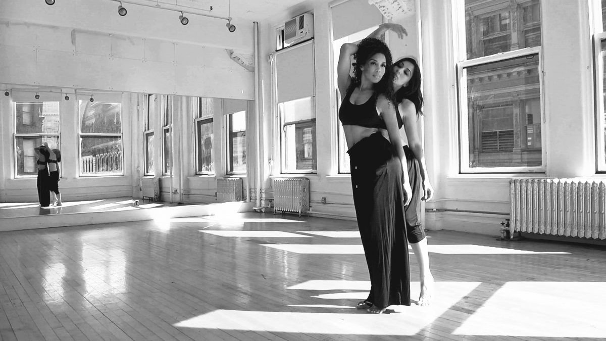 Julie Asriyan & Celestine Rae in dance film From Eden