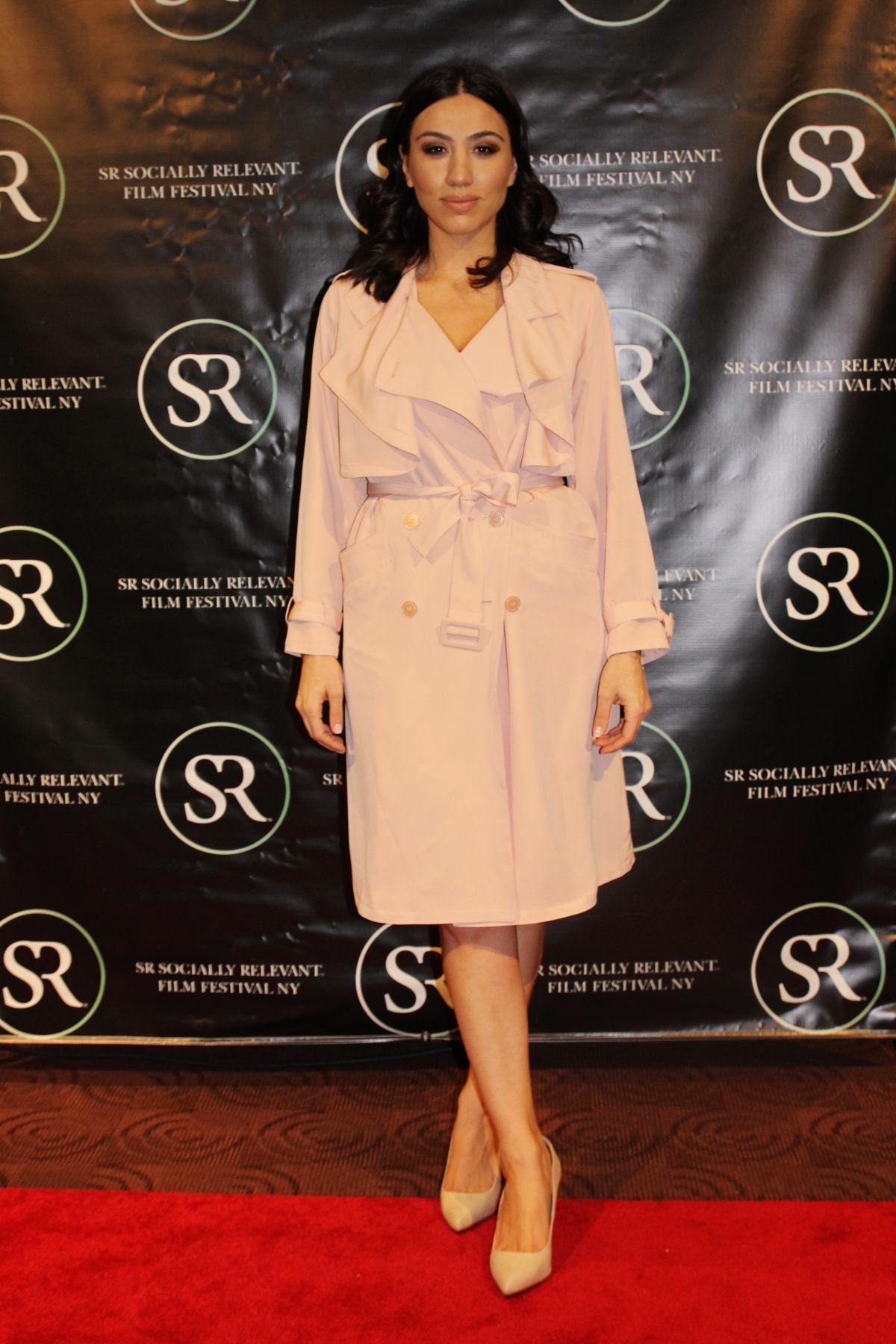 Julie Asriyan at the Socially Relevant Film Festival