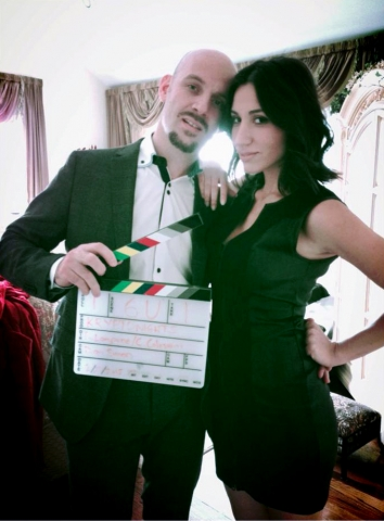 BTS Julie Asriyan, Kenrick Merdani in feature film Kryptonights