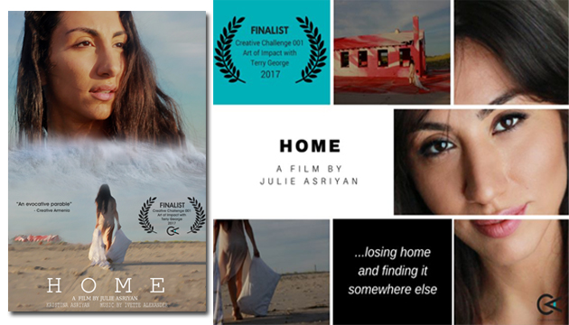HOME finalist in director Terry George film challenge