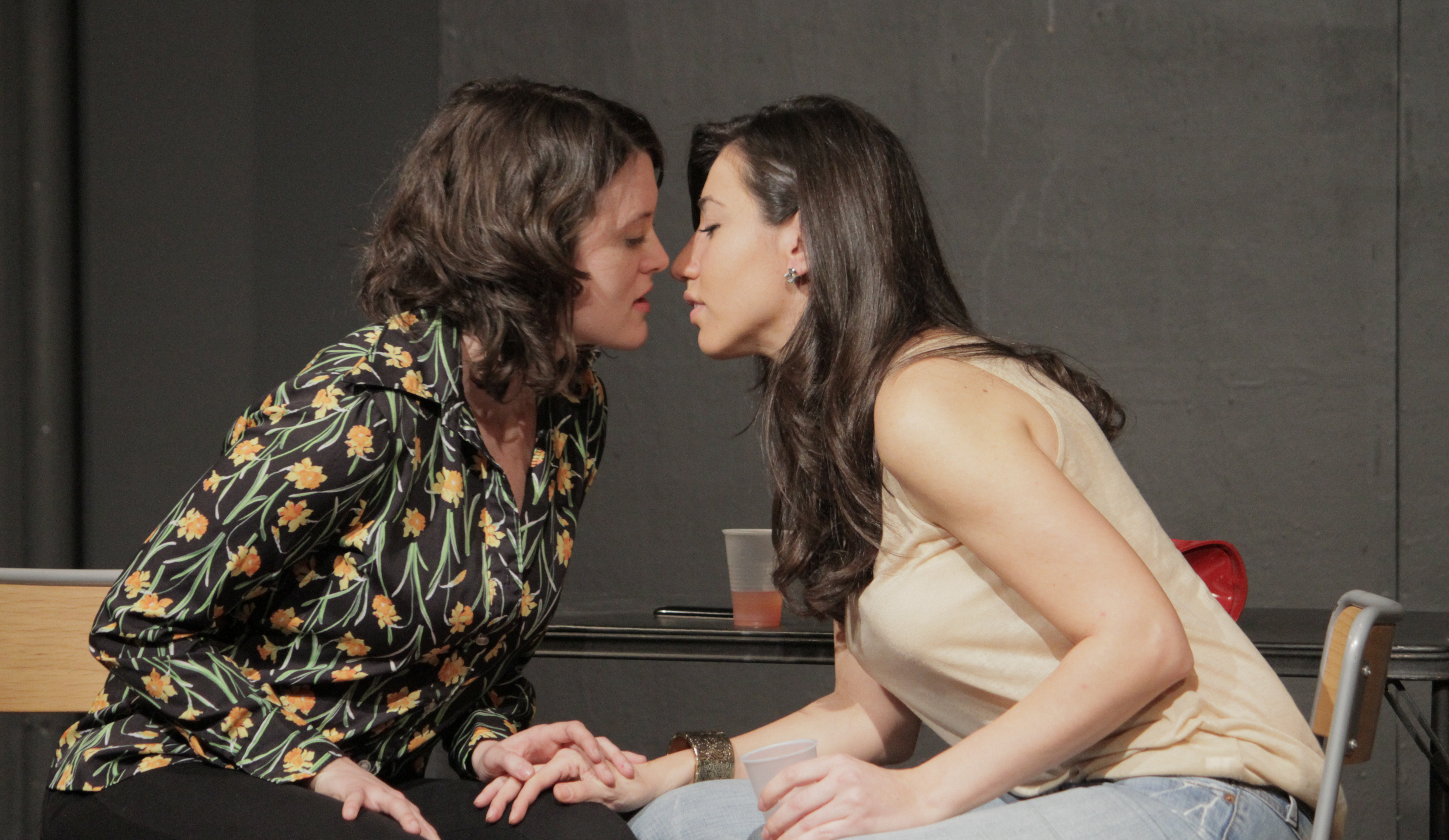 "Julie Asriyan & Natalya Krimgold ""Souls on Parade"" William Esper Studio alum actors showcase at Theater Row"