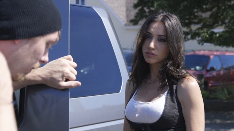 Julie Asriyan as Maria in feature film Kryptonights
