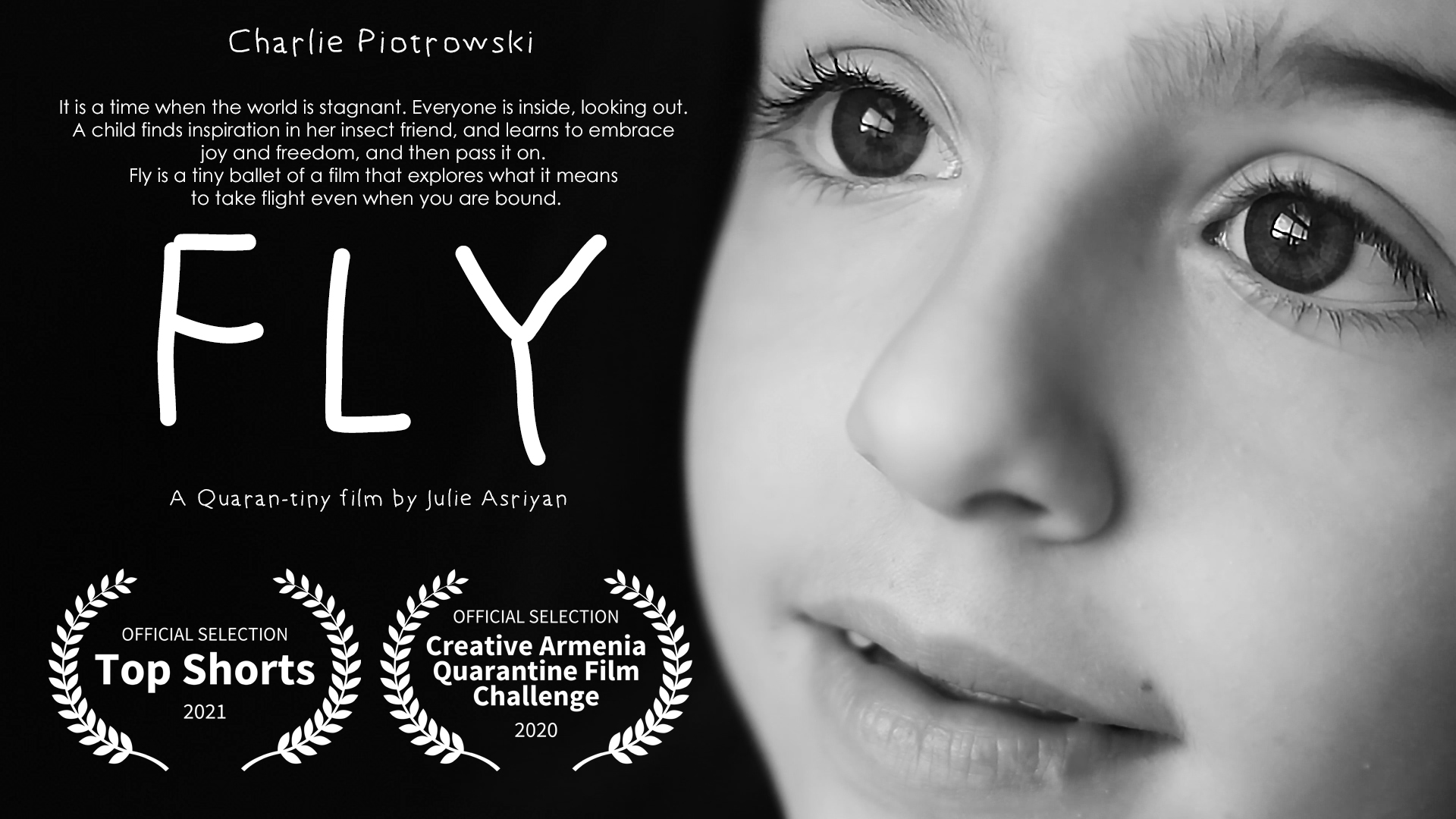 """""""FLY"""" Official Selection 2021 Top Shorts and Venice Shorts Film Festivals"""