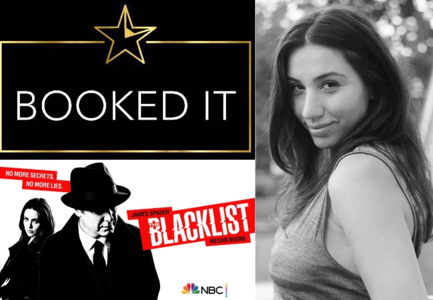 Julie Asriyan booked Blacklist