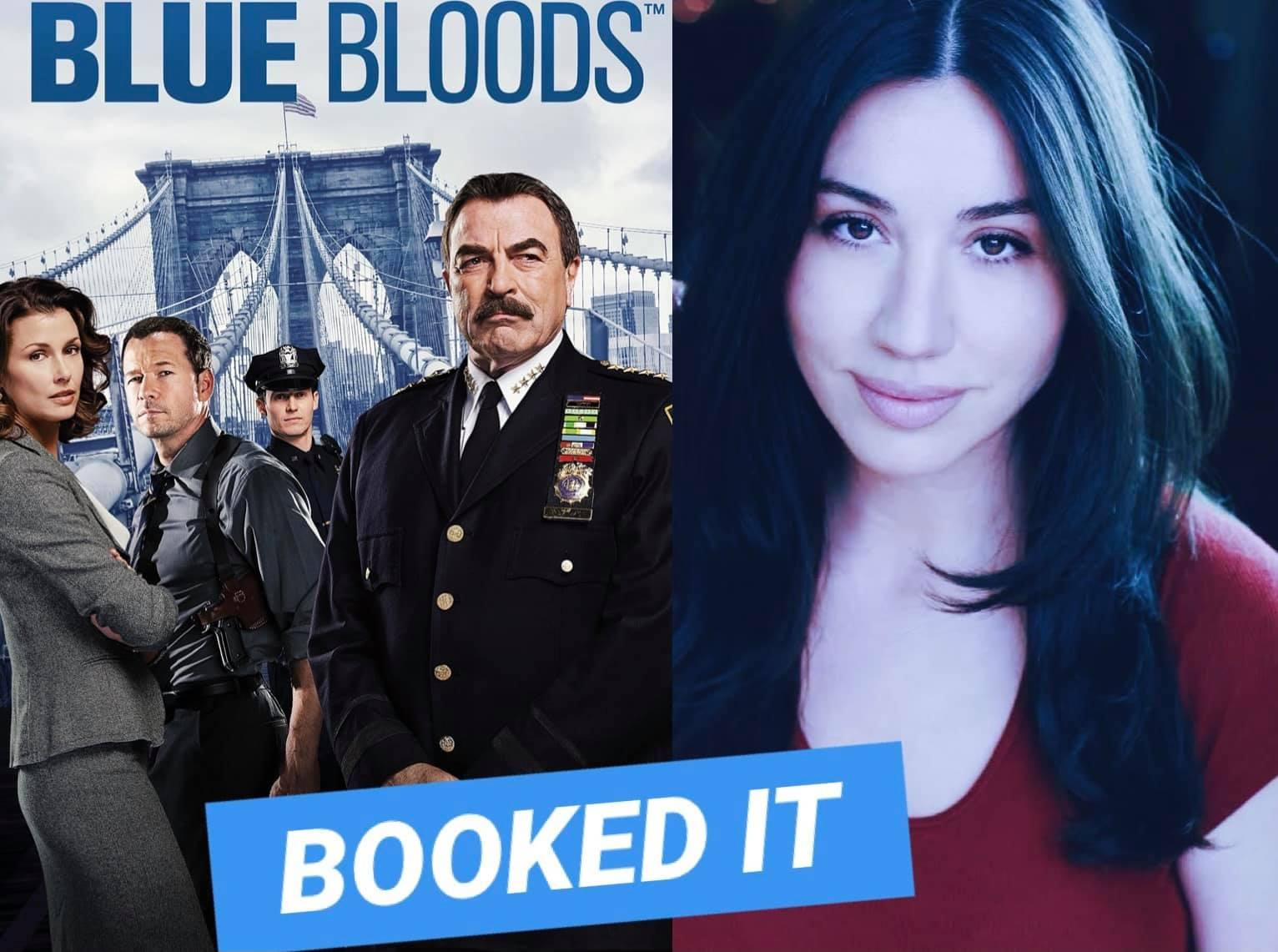 Julie Asriyan booked Blue Bloods