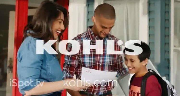 Julie Asriyan in Kohl's Ad